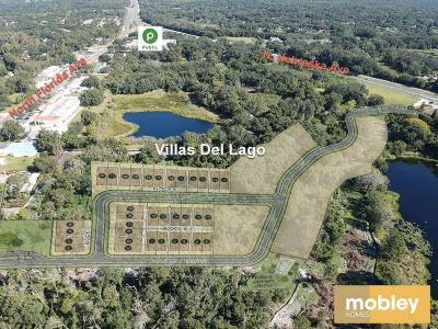 Villas Del Lago Labeled Aerial